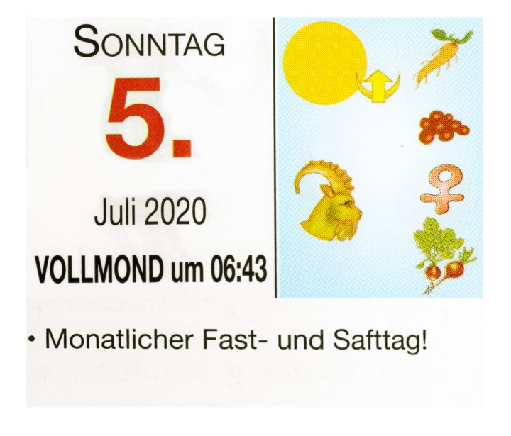 #7 Vollmond-Fastentag