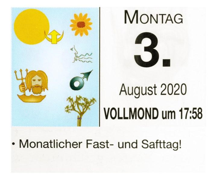 #8 Vollmond-Fastentag