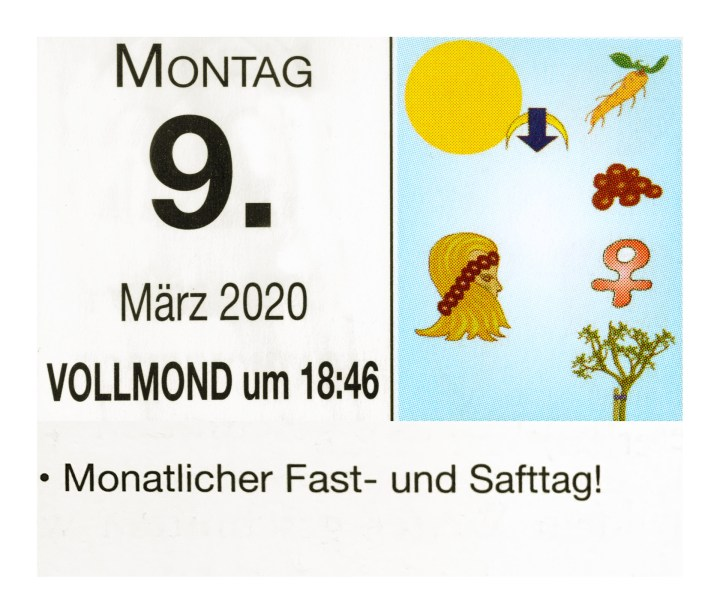 #3 Vollmond-Fastentag
