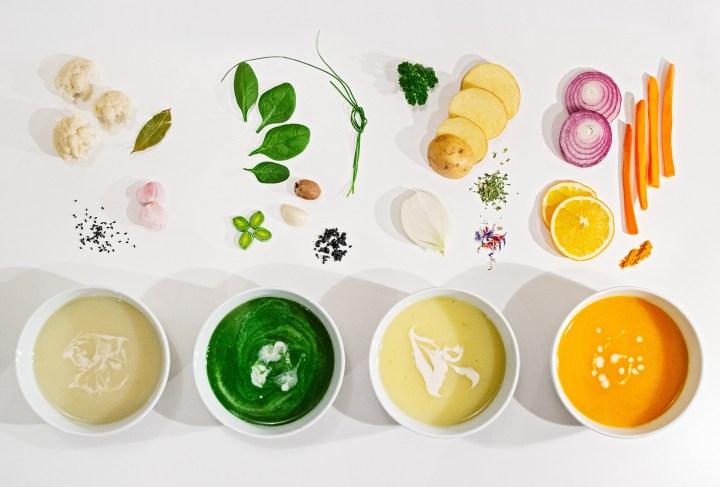 Mahlzeit aus meiner veganen Suppenküche: die Klassiker