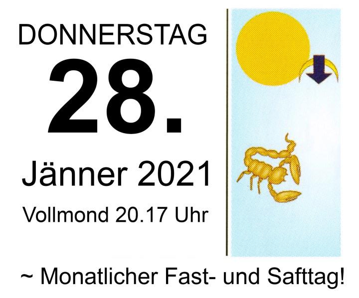 #1 Vollmond-Fastentag 2021