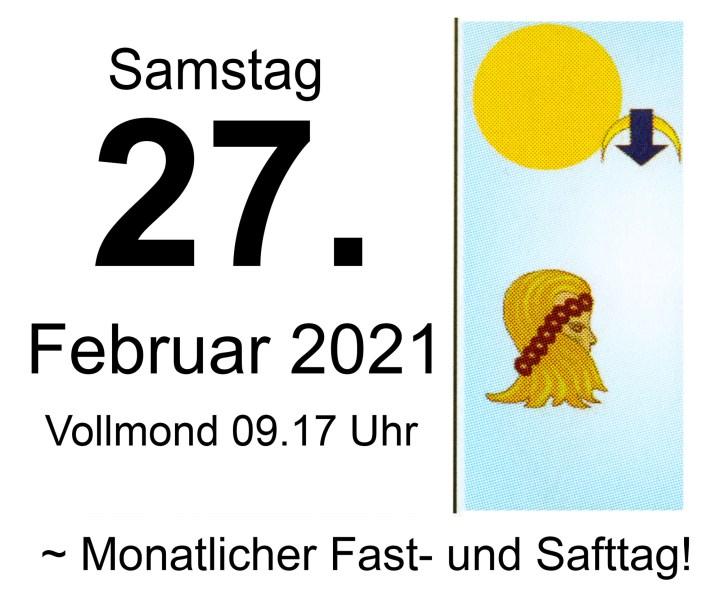 #2 Vollmond-Fastentag 2021