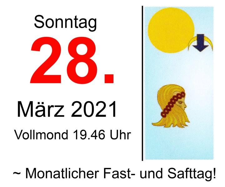 #3 Vollmond-Fastentag 2021