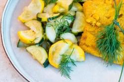 Vegane Polenta-Schnitten für deinen Sommer