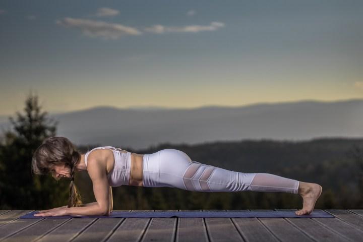 Plank – und alles wird gut!