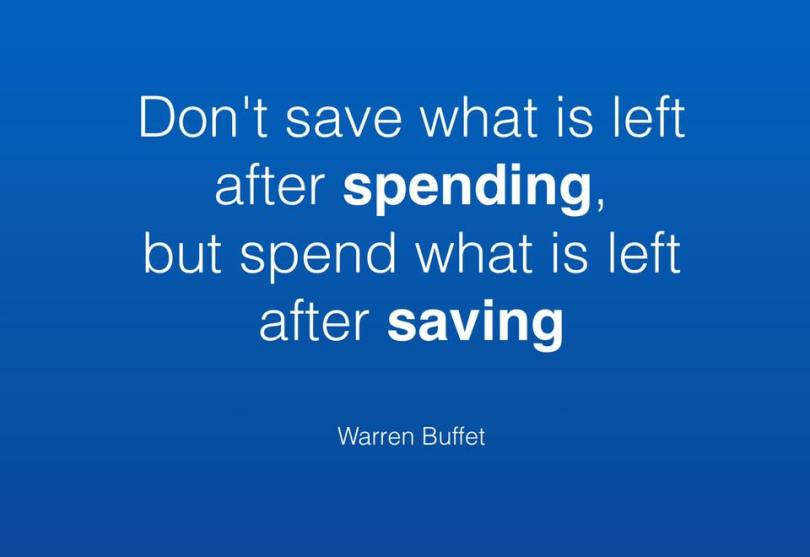 Quote from Warren Buffet