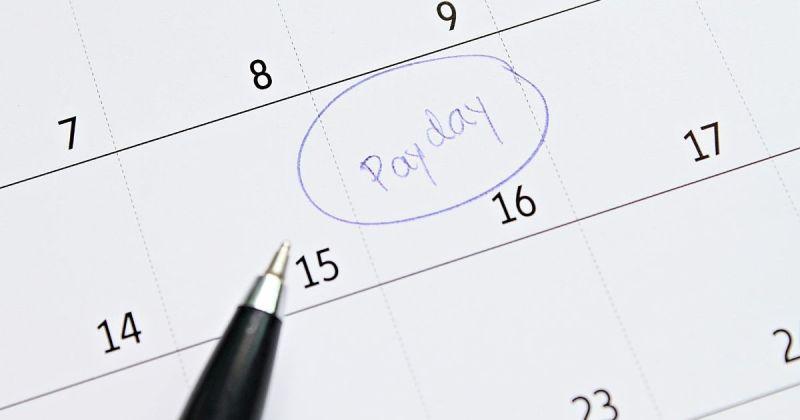 Pay days till retirement