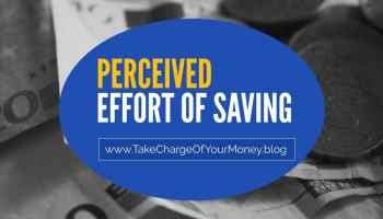 Effort of saving