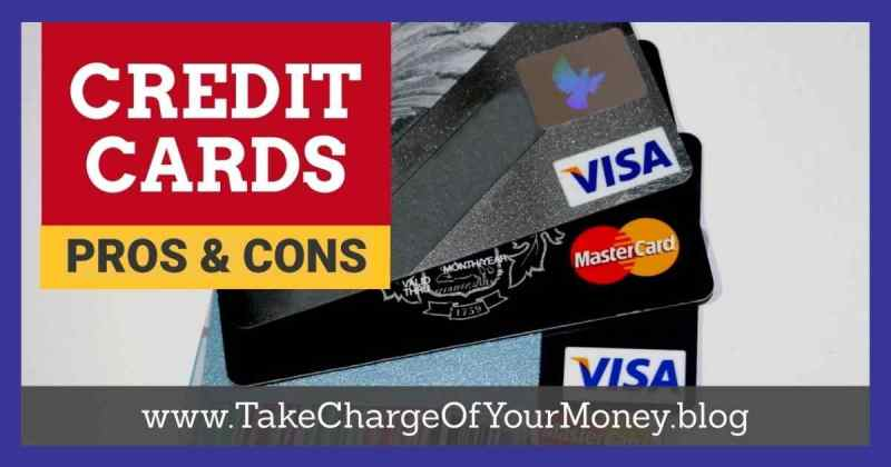 Credit cards pros and cons