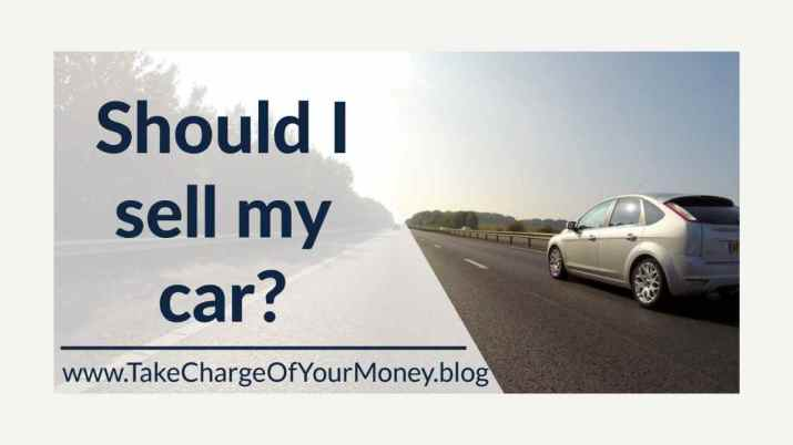 Should I sell my car?