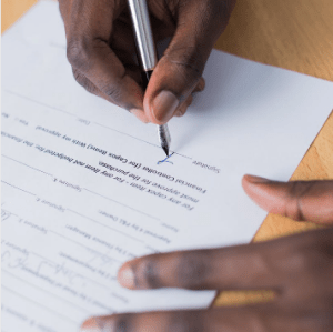 A trust deed contract