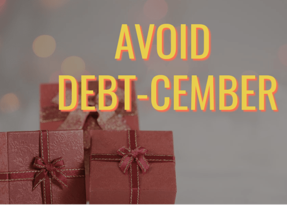Avoid debt this December