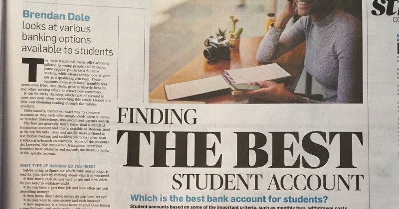 Finding the best student account
