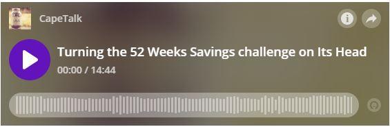 52 Week Savings Challenge for 2020