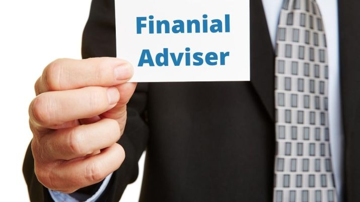 Request a financial adviser
