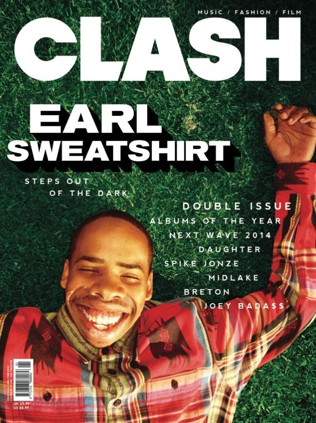 Take Five Agency + Management | Earl Sweatshirt on Clash Magazine