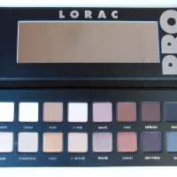 LORAC: Pro Palette Photos & Review
