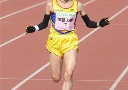 安藤友香が名古屋ウィメンズマラソンに挑戦!初マラソンで日本人1位!?