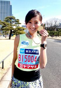福島和可菜はマラソン芸能人最速って本当?元自衛隊ランナーの練習をチェック!