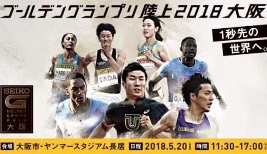 セイコーゴールデングランプリ大阪2018!男子100m優勝予想と結果速報!