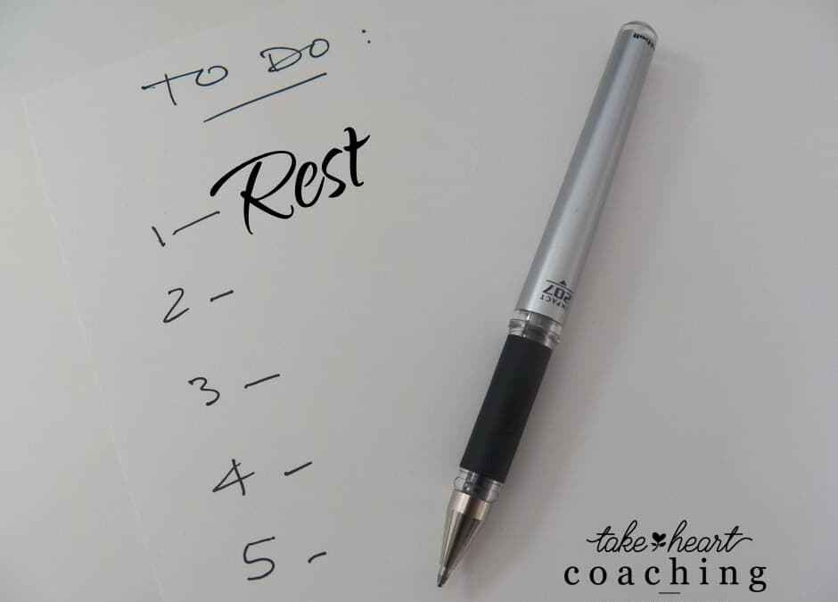 Does rest make it on your to-do list?