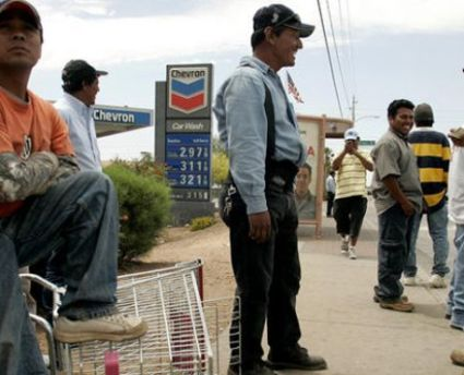 不法入国日雇い労働者