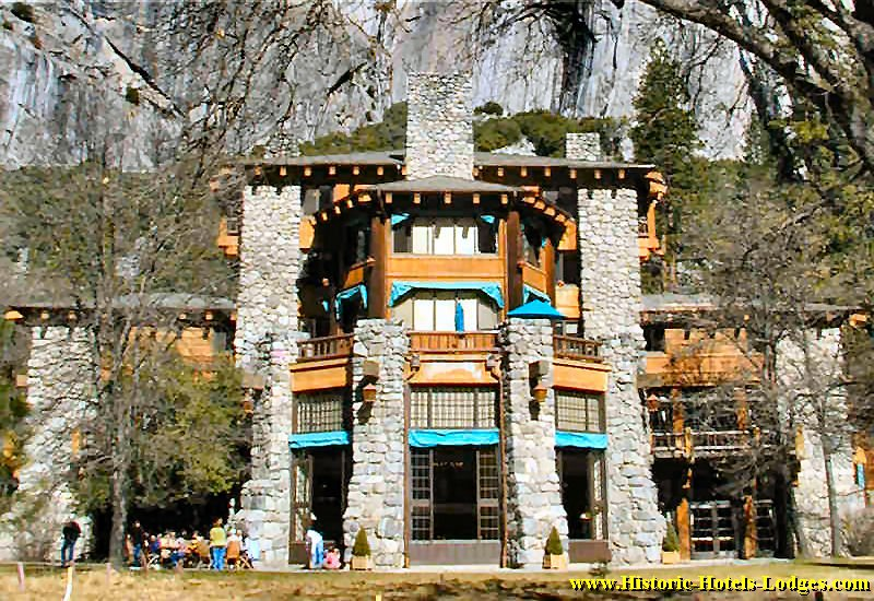 The Ahwahnee in Yosemite