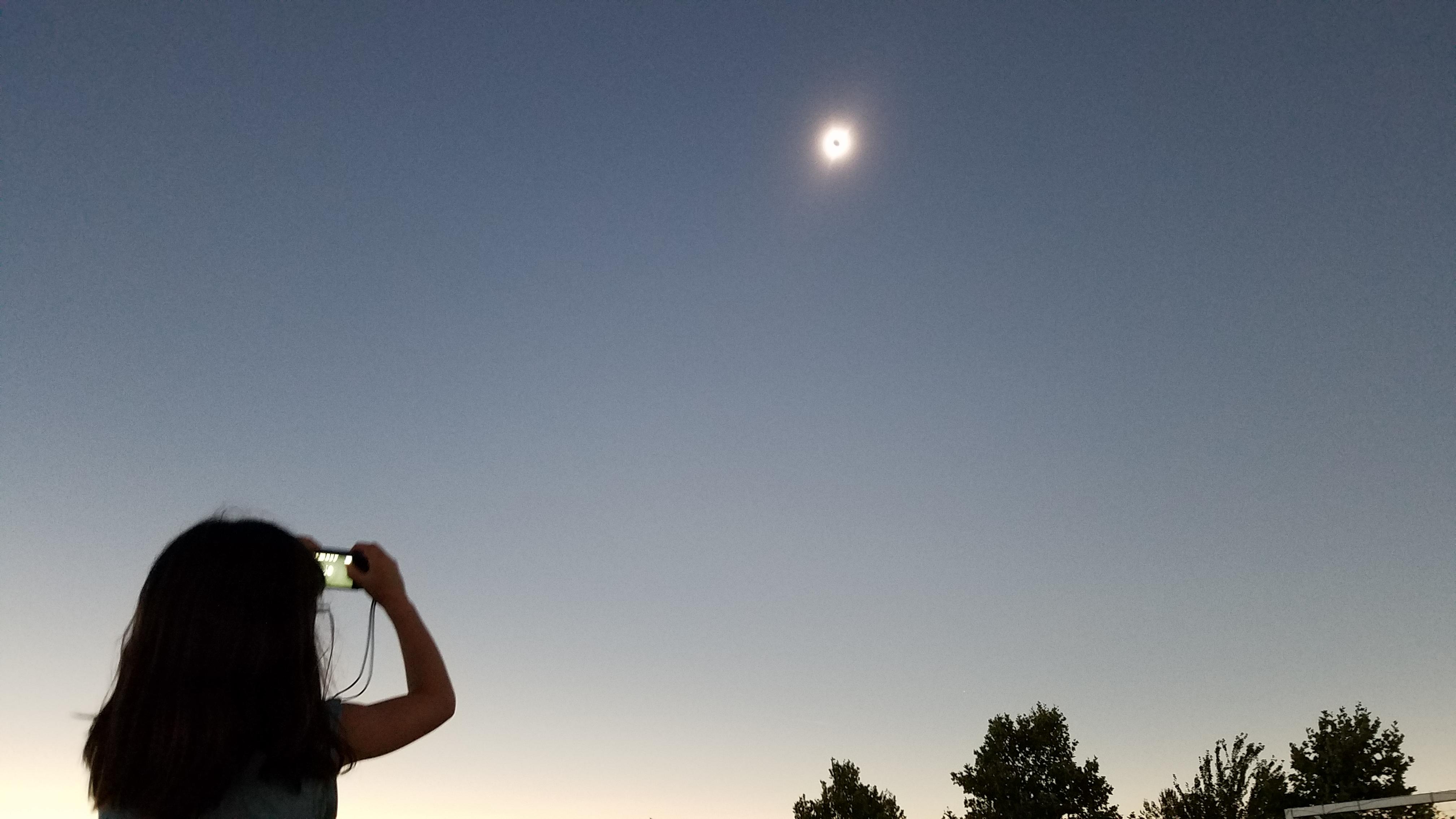 アメリカで皆既日食を見たぞ!!