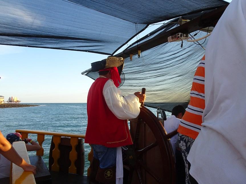 海賊船ツアー