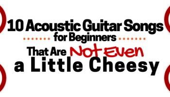 5 Easy Acoustic Guitar Songs Everyone Should Know