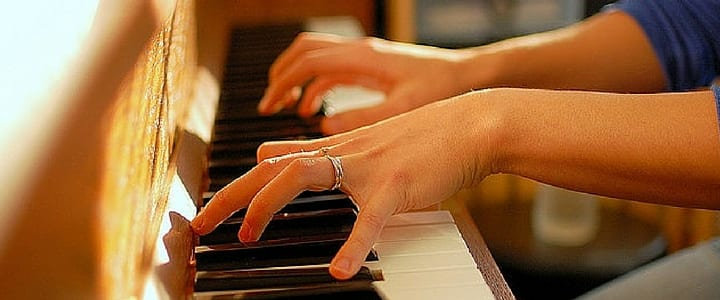 Necessary Piano teacher hand job