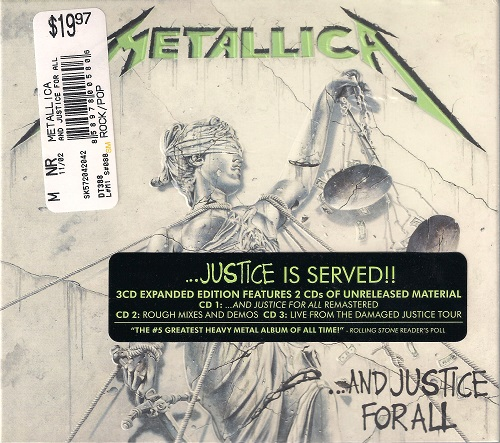 Metallica - ...And Justice for All (Remastered 2018) (3CD Expanded Edition)