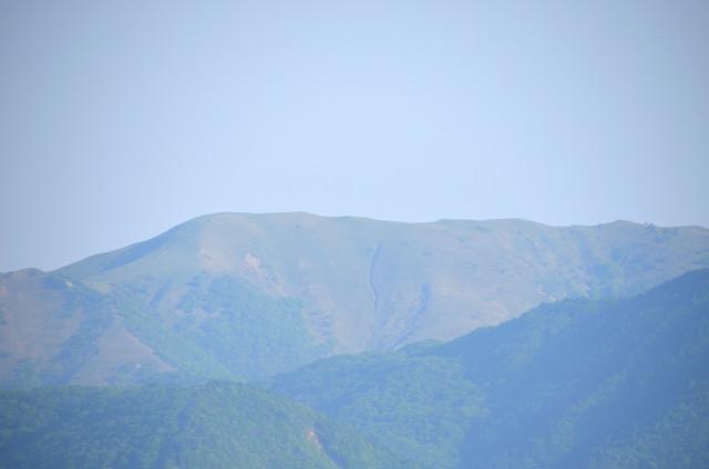 奥の平 竜ヶ岳方面