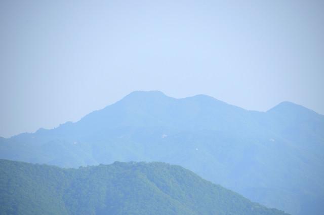 奥の平 釈迦ヶ岳方面