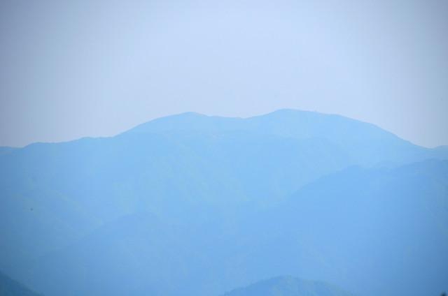 奥の平 雨乞岳方面