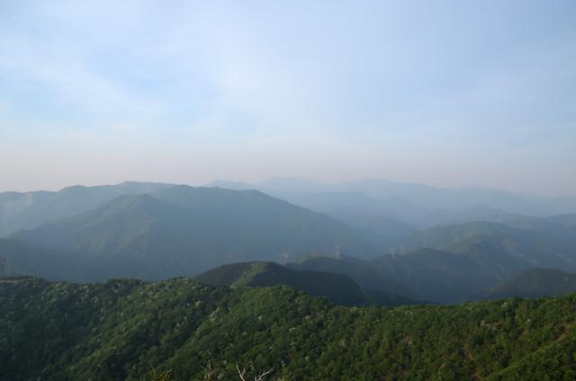 東ボタンブチ〜ボタンブチ 竜ヶ岳方面