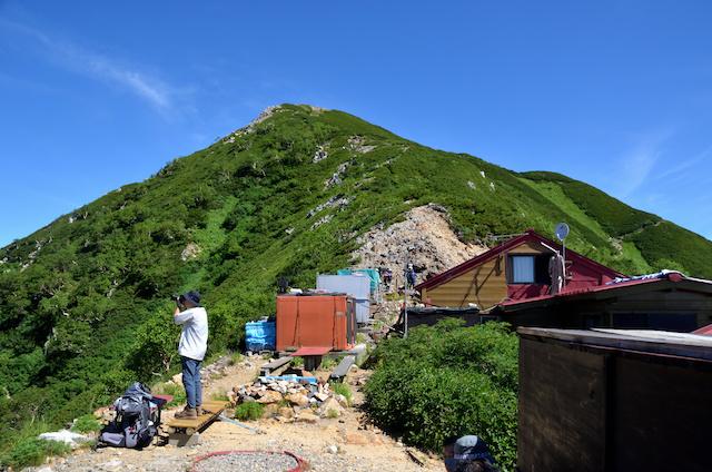 表銀座縦走コース ヒュッテ西岳