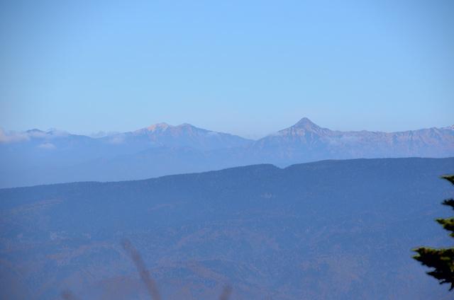 御嶽山 登山 小坂口 笠ヶ岳、双六岳、三俣蓮華岳、薬師岳方面