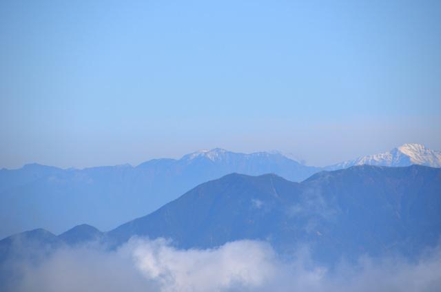 御嶽山 登山 仙丈ヶ岳