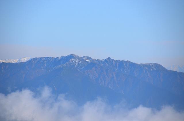 御嶽山 登山 木曽駒ヶ岳、宝剣岳