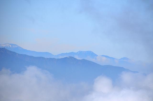御嶽山 登山 光岳方面