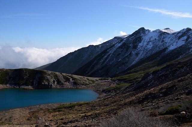 御嶽山 登山 三ノ池周回