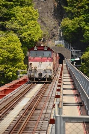 大井川鉄道 奥大井湖上駅