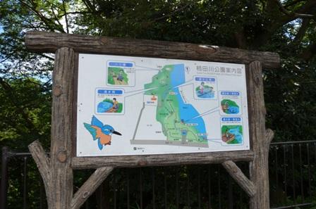 柿田川公園 案内図