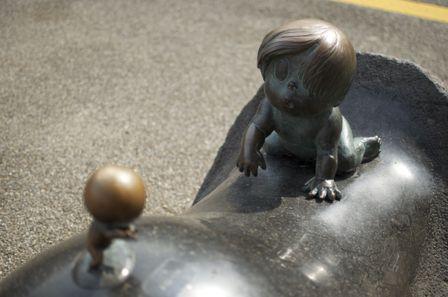 水木しげる記念館鬼太郎の赤ちゃんの頃