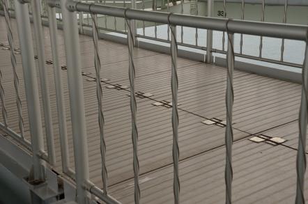 明石海峡大橋 送電線