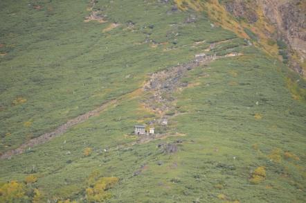 御嶽山 大滝口 登山道