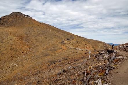 御嶽山 8丁ダルミ