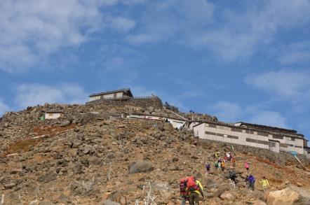 御嶽山 八丁ダルミ