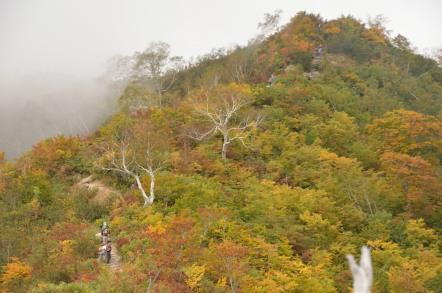 五竜岳 登山 小遠見山